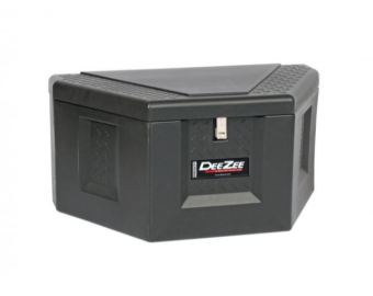 Lockable poly tongue tool box 36w x18t