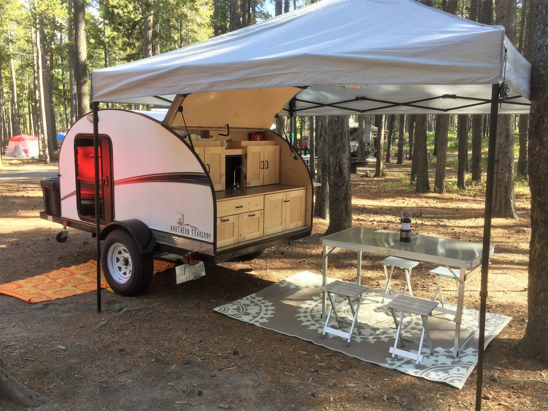Northern Teardrop Trailer – Ultralight camping trailers